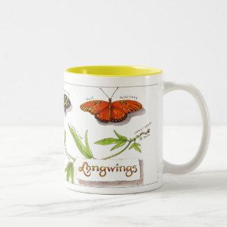 Longwing butterflies mug