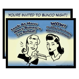 Look At How Many Bunco's I've Rolled Card