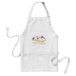 Look for me in the mountains standard apron