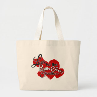 Look for the Positive Jumbo Tote Bag