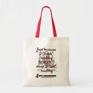 """Look"" healthy/Butterfly...APS Tote Bag"