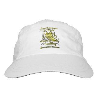 """""""Look"""" healthy/Butterfly...Endometriosis Hat"""