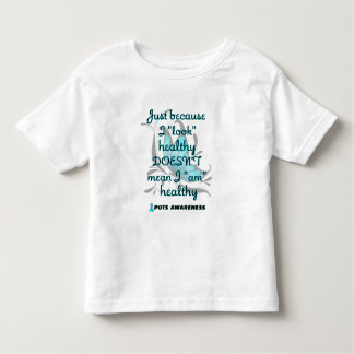 """""""Look"""" healthy/Butterfly/P.O.T.S. Toddler T-shirt"""