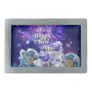 Look how amazing will be the New Year Rectangular Belt Buckle