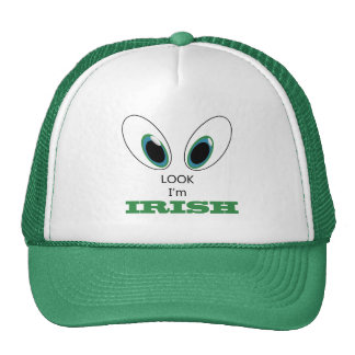 Look I'm Irish Design for St Patrick's Day Trucker Hat
