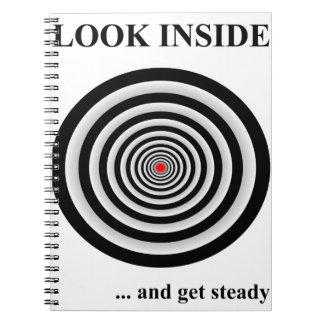 LOOK INSIDE SPIRAL NOTEBOOK