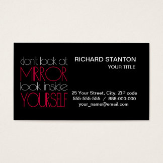 Look inside yourself business card