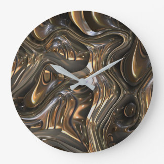 Look Into the Mirror Wall Clock by Julie Everhart