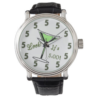 Look!  It's 5:00!  Martini Watch