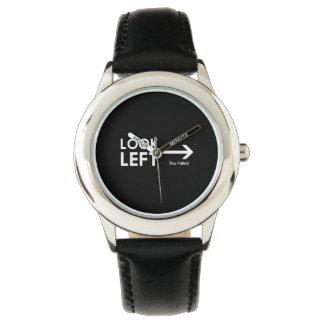 Look Left Wrist Watches