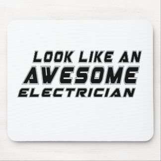 Look Like An Awesome Electrician Mouse Pad