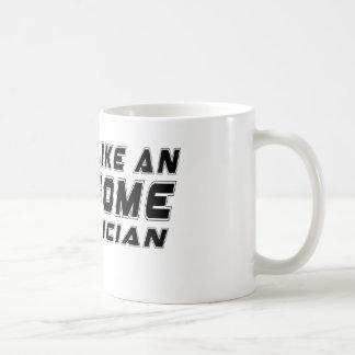 Look Like An Awesome Electrician Basic White Mug