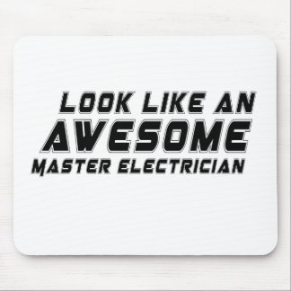 Look Like An Awesome Master Electrician Mouse Pad