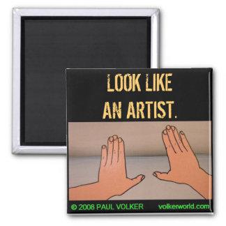 LOOK LIKEAN ARTIST. #3.00 MAGNET