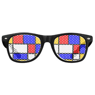 Look Modern art Mondrian Party Sunglasses