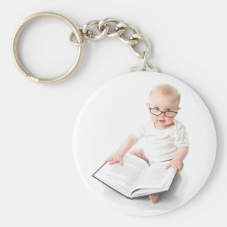 Look Mom! I Can Read! Basic Round Button Keychain