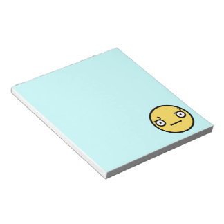 Look of Disapproval Notepad