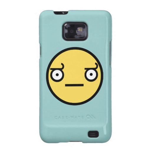 Look of Disapproval Samsung Galaxy Case