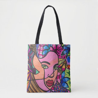 Look of hope tote bag