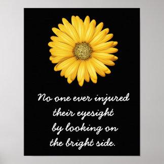 Look On Bright Side --- Art Print