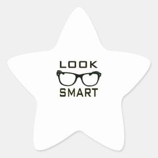 Look Smart Star Stickers