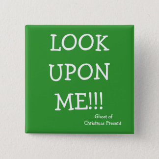 Look - The Scrooge Series 2 Inch Square Button