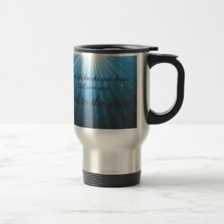Look to the stars travel mug
