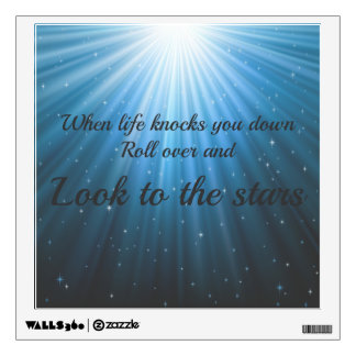 Look to the Stars Wall Decal