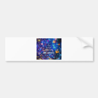 Look up and you see the wonder surrounds us bumper sticker