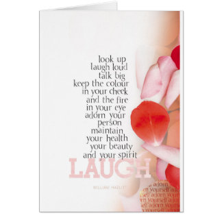 Look Up, Laugh Loud Card