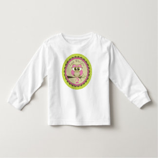 Look Who Owl Birthday Tshirt