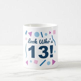 Look Who's 13 Coffee Mug