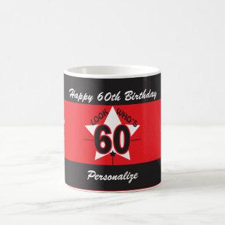Look Who's 60 | 60th Birthday | DIY Name Coffee Mug