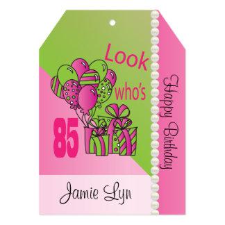 "Look Who's 85 | 85th Birthday 5"" X 7"" Invitation Card"