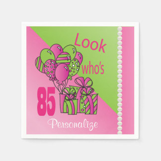 Look Who's 85 | 85th Birthday Disposable Napkin
