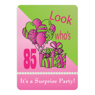 Look Who's turning 85 | 85th Birthday Card