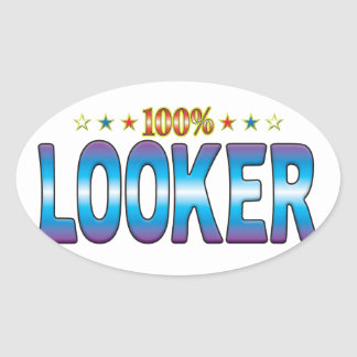 Looker Star Tag v2 Oval Stickers