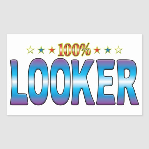 Looker Star Tag v2 Stickers