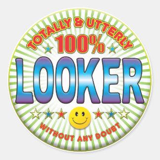 Looker Totally Round Sticker