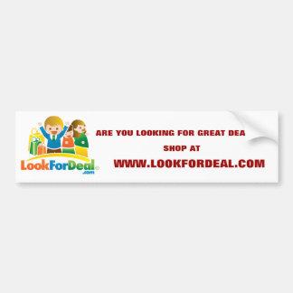 LookForDeal-BumperSticker Bumper Sticker