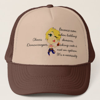 Looking Cute is not an Option Trucker Hat
