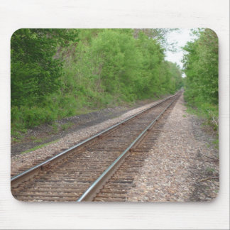 Looking Down The Tracks Mousepad