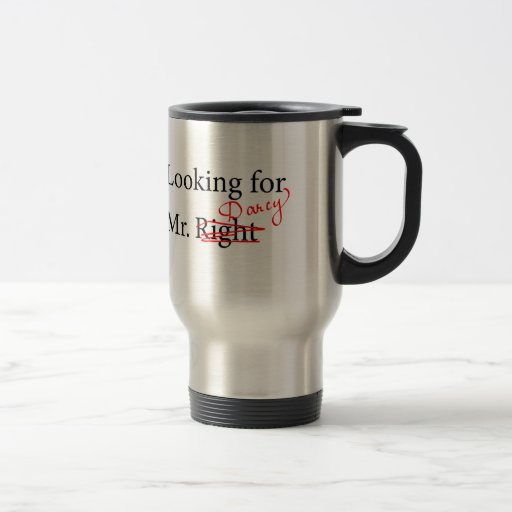 Looking for Mr Darcy Coffee Mugs