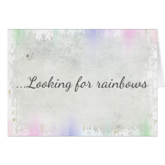 Looking for Rainbows Card for Inspiration