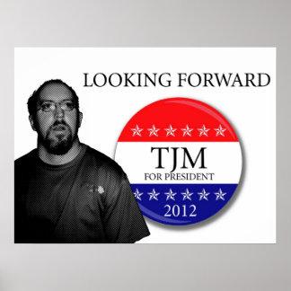 LOOKING FORWARD TJM 2012 POSTER