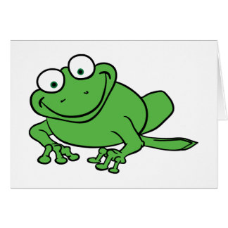Looking Frog Card
