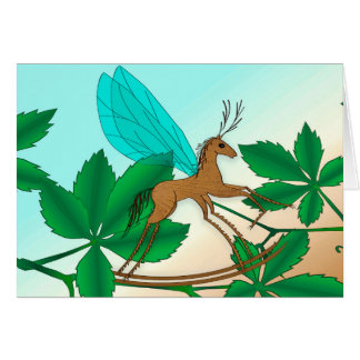 Looking Glass Insects - Rockinghorse-Fly Card