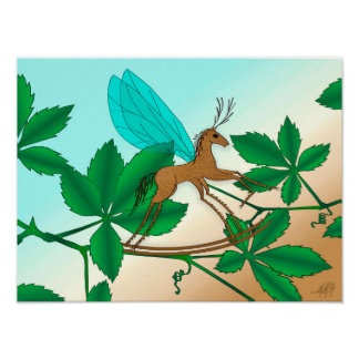 Looking Glass Insects - Rockinghorse-Fly Poster