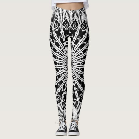 Looking Glass Mandala Leggings