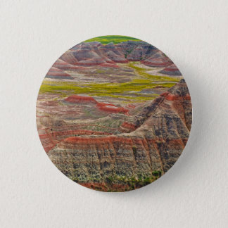 """Looking into the badlands"" collection 2 Inch Round Button"